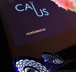 Seraing marque d'une double empreinte le prix Caïus 2018