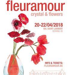 Crystal and Flowers, 80.000 fleurs pour décorer le Val St-Lambert