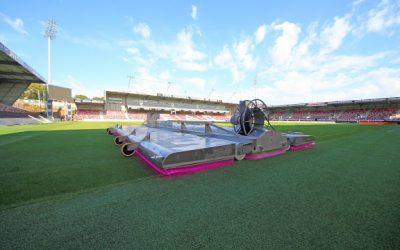 Une PME sérésienne développe un système à la pointe de la technologie et séduit la Ligue 1 de football