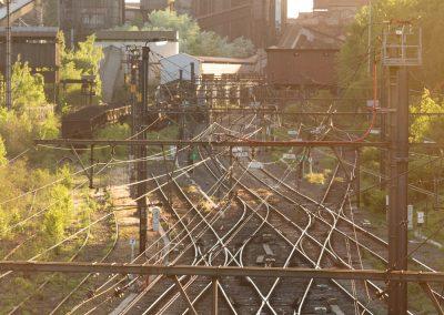 10. Rails qui convergent vers les hauts-fourneaux | 2018