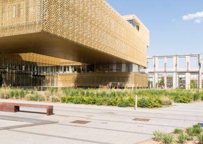 19. Bâtiment de CMI, place Kuborn | 2018