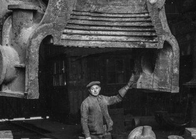 31. Turbine en acier coulé à Seraing | 1960
