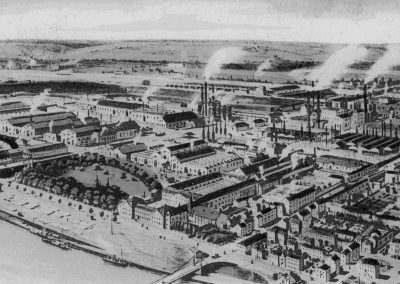 40. Ancienne vue aérienne de Seraing | 1900