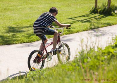 41. Enfant à vélo, Parc Bernard Serin | 2018