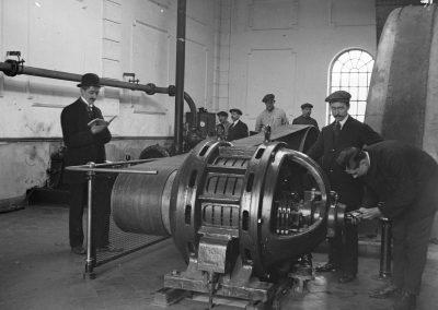 50. Moteur de ventilateur de la mine | 1915
