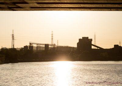 70. La Meuse depuis les quais d'Ougrée | 2018