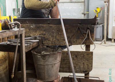 91. Souffleur de verre à l'Atelier du Val | 2018