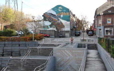 L'art urbain s'invite en gare de Seraing