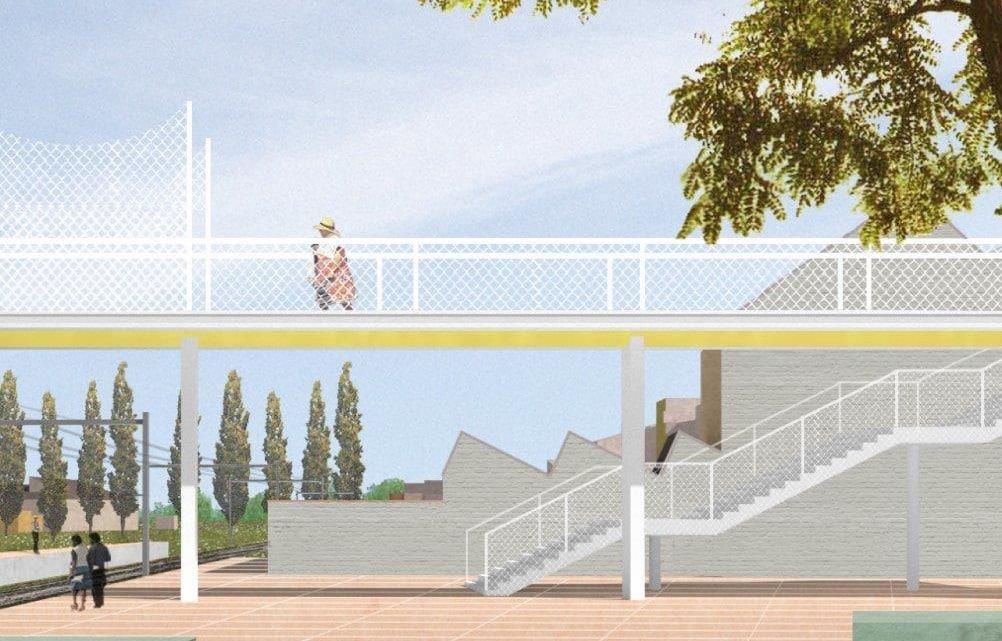 Avis de marché public de travaux pour la construction d'une passerelle sur voies à Ougrée